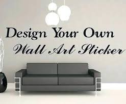 custom wall stickers in decors