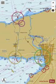 Niagara River And Welland Canal Marine Chart