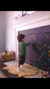 perfect baby proof fireplace on love this idea a baby proof fireplace cover a magnetic blackboard