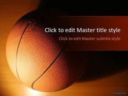 Basketball Powerpoint Template Free Basketball Ppt Template