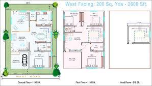 east facing triple bedroom house plans fresh mesmerizing west facing house plan according to vastu best