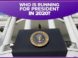 Image result for who is running for president in 2020 so far