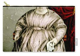 Susan Barton, The Mammoth Lady Carry-all Pouch for Sale by Science Source