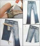 Джинсовое платье своими руками из старых джинсов своими руками 85