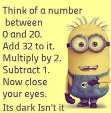 funny being to nice quote with minions