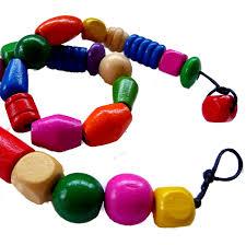 wooden beads jewellery making kids