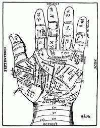 Freebie Palm Reading Chart Image Stamping
