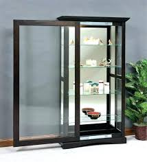 wood curio cabinet wood curio cabinet with sliding glass doors white kings brand furniture wood curio