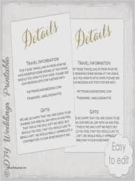wedding accommodations template wording for accommodation cards for wedding invitations