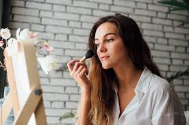 remove all of your makeup clean your face and then follow up with a moisturizer to keep your skin as healthy as possible