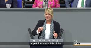 Ingrid remmers is a german politician. Reden Ingrid Remmers
