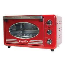 Retro Toasters nostalgia retro series toaster oven in redrtov220retrored the 8407 by uwakikaiketsu.us