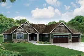 ranch house plan little creek 30 878 front elevation