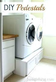 lowes samsung dryer. Samsung Washer Dryer Pedestal And Risers Build Your Own Pedestals With Lowes