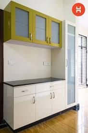 Crockery Unit Design Ideas Side Cabin In The Kitchen Kitchen Wall Units Kitchen Room