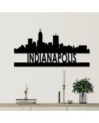 If you have any questions about your purchase or any other product for sale, our customer service representatives are. Great Deal On Cityscape Metal Cutout Wall Decor Latitude Run Size 12 H X 24 W X 0 06 D City Indianapolis