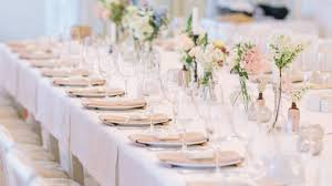 Wedding Reception Table Layout 5 Ideas For Wedding Reception Table Decorations Crystal Ballroom