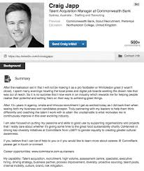 linkedin profile summaries that we love and how to boost your  2 craig shows he has a sense of humor and that he s motivated