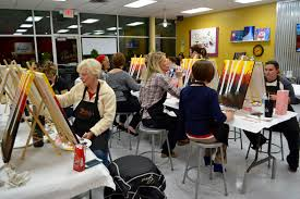 painting with a twist studio in fenton michigan