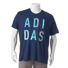 adidas 4xl. men\u0027s adidas blue classic-fit climalite t-shirt size 3xl big \u0026 tall 4xl m