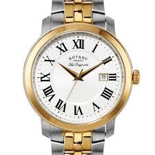rotary mens les originales two tone swiss watch gb90091 21 rotary mens les originales two tone swiss watch gb90091 21