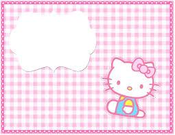 Printable Hello Kitty Invitations Personalized Template Free Printable Invitation Templates Template Ideas