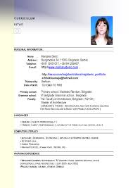Best Resume Format For Job Job Resume Sample Malaysia RESUME 68
