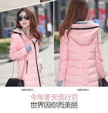 winter jacket women wadded jacket female outerwear slim young girl winter coat women medium long