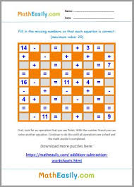 Download free in windows store. Math Crossword Puzzles Online Games Worksheets