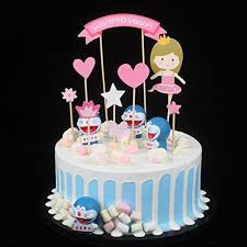 Princess Baby Girl Diy Happy Birthday Cake Topper