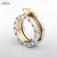 <b>CHRAN</b> Elegant Austrian <b>Crystal</b> Gold Color <b>Brand Jewelry</b> ...