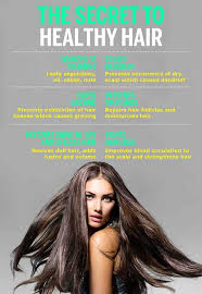 infographic on vitamin e uses for healthy hair