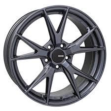 Enkei Wheels Phoenix Blue Gunmetal 17x7 5