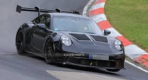 Although the 911 carrera's turbocharged engine sounds pretty good, the gt3 is on another level. 2022 Porsche 911 Gt3 Rs Looks The Business On The Nurburgring Carscoops