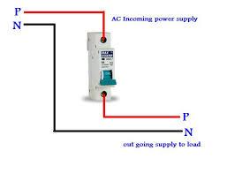 single pole mcb wiring in urdu hindi electrical tutorials single pole mcb wiring diagram