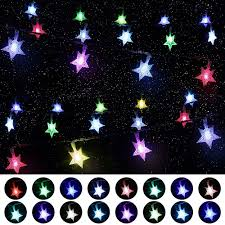 Star String Lights For Bedroom Multi Color Changing Star String Lights Usb Powered 16 4ft 50 Led Hanging Xmas Fairy Lights With Remote Control Timer Mood Lighting For Bedroom