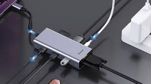 Купить <b>USB</b>-<b>концентратор Baseus Square</b> Desk VGA в городе ...