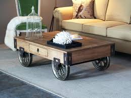 coffee table with wheels decoration gorgeous rustic coffee table with wheels rustic coffee table with in coffee table with wheels