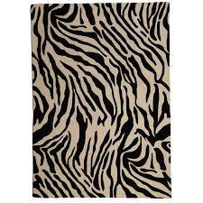 get quotations lanart africa zebra print wool area rug zebra print rug a82 zebra