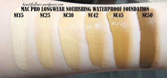 Review Mac Pro Longwear Nourishing Waterproof Foundation