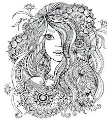 Coloring Pages Mandala Cool Flower Art G Easy Lotus Man Cannexus Co