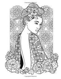 8 Beste Afbeeldingen Van Geisha Kleurplaten Coloring Books