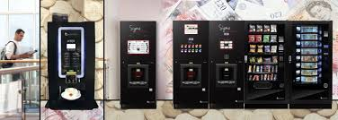 Premium Gourmet Coffee Vending Machine Best Sigma Touch