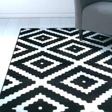 black and white area rugs for amazing best striped ikea