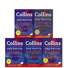 get ations collins easy learning dictionary collection 5 books set english verbs spelling ldioms
