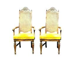 yellow leather dining chairs ning mustard velvet 6 room