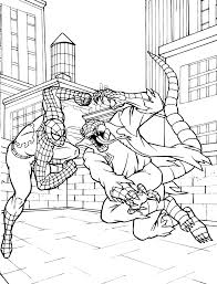 Small Picture Venom Vs Spiderman Coloring Pages Coloring Home