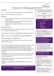 Good Looking Cv Top Tips For Writing A Good Uk Cv