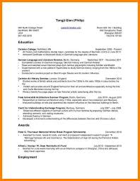 How Put Double Major On Resume Best Template Collection New Capture