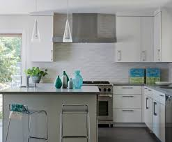 Beautiful Kitchen Backsplash Backsplash White Kitchen Ideas Minimalistic Kitchen Style Of